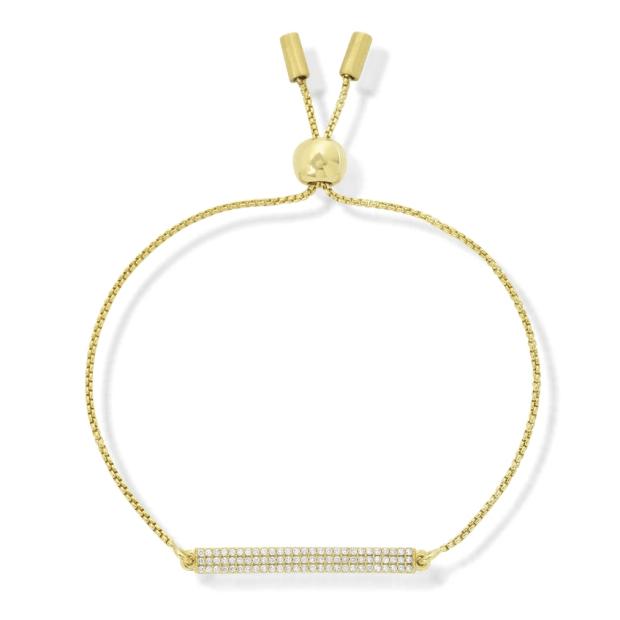Dean Davidson Signature Pave Bar Chain Bracelet - Gold #1