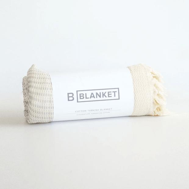 B Yoga The Turkish Blanket - Natural Fog #1