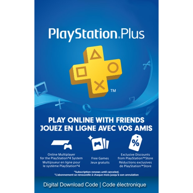 PlayStation Plus 12 Month Membership - Electronic Code [Download]
