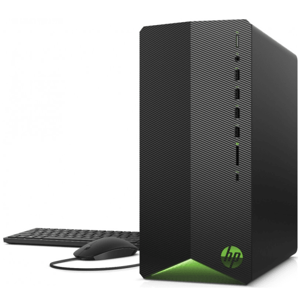 HP Pavilion TG01-0299 Gaming Desktop PC (Monitor not included) with HP 3-Year Pickup and Return Desktop Service