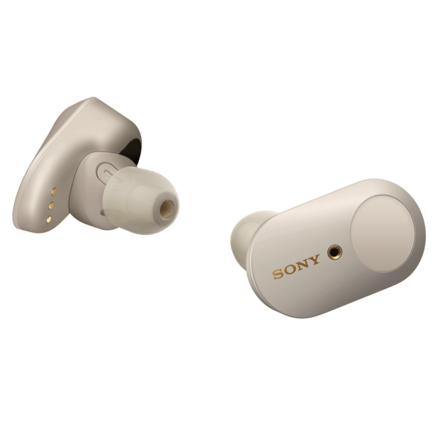 SONY® WF-1000XM3 Noise Canceling Truly Wireless Earbuds - Silver #1