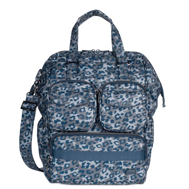 LUG® Via 2 Convertible Tote Bag - Leopard Navy #1