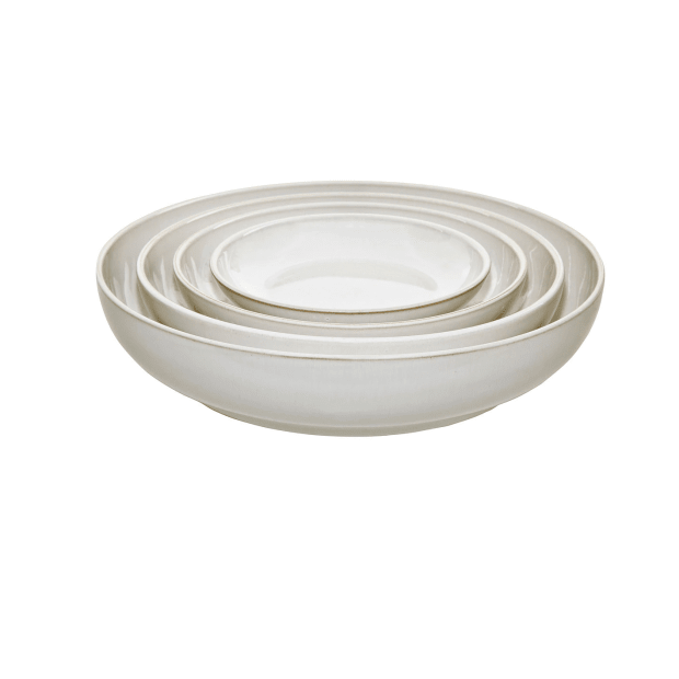 Denby Natural Canvas 4-Piece Nesting Bowl Set #1