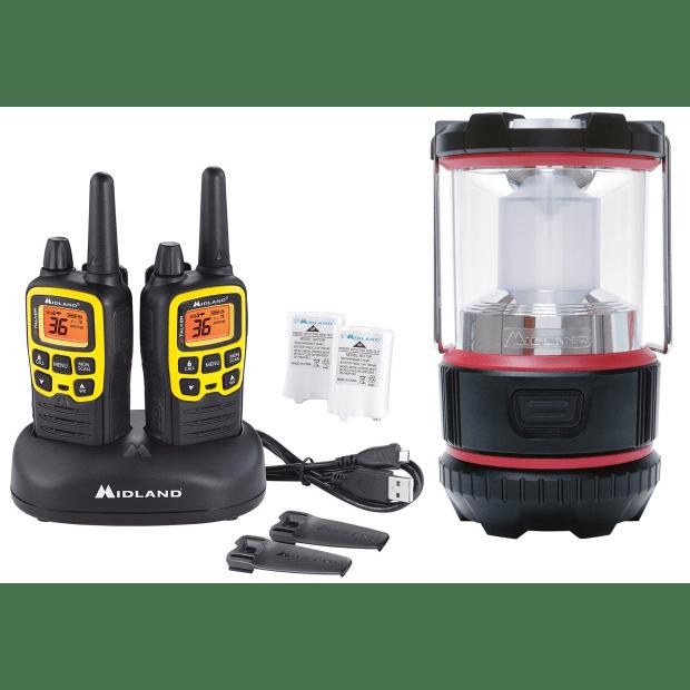 Midland® X-TALKER T61VP3 Two-Way Radio with ML500 LED Lantern