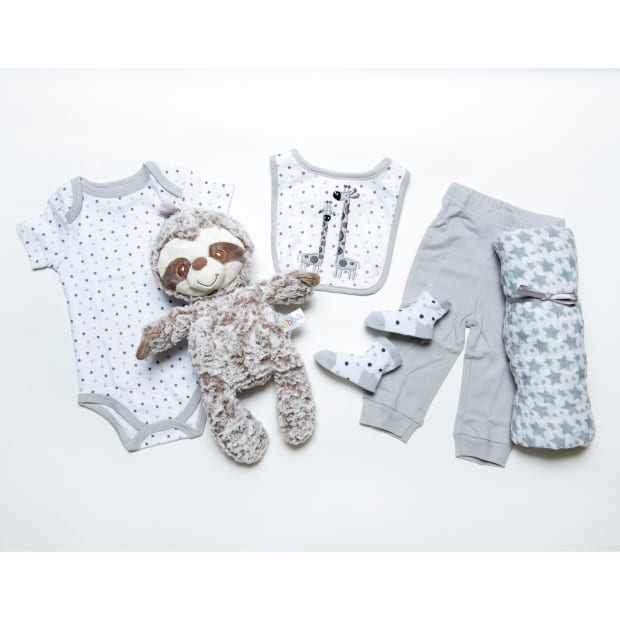 Peter & Paul's Gifts Sloth Naptime Gift Baske
