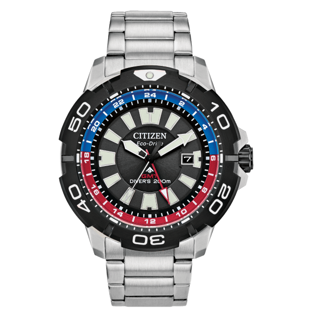 Citizen Men's Eco-Drive Promaster GMT Diver Watch #1