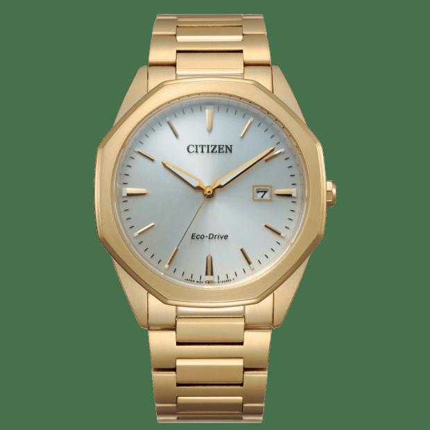 Citizen Men's Eco-Drive Corso Gold-Tone Watch #1