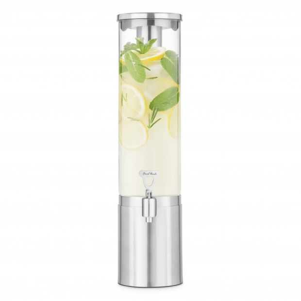 Final Touch® 2.5L Stainless Steel & Glass Beverage Dispenser #1