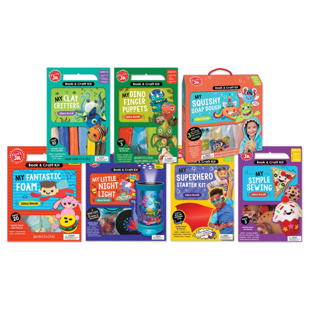 Klutz Jr. Crafts Bundle