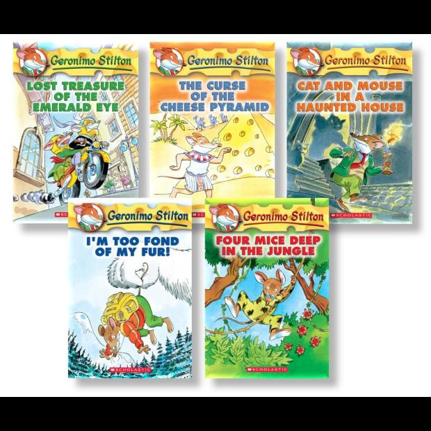 Geronimo Stilton Starter Pack: (Books 1-5) by Geronimo Stilton