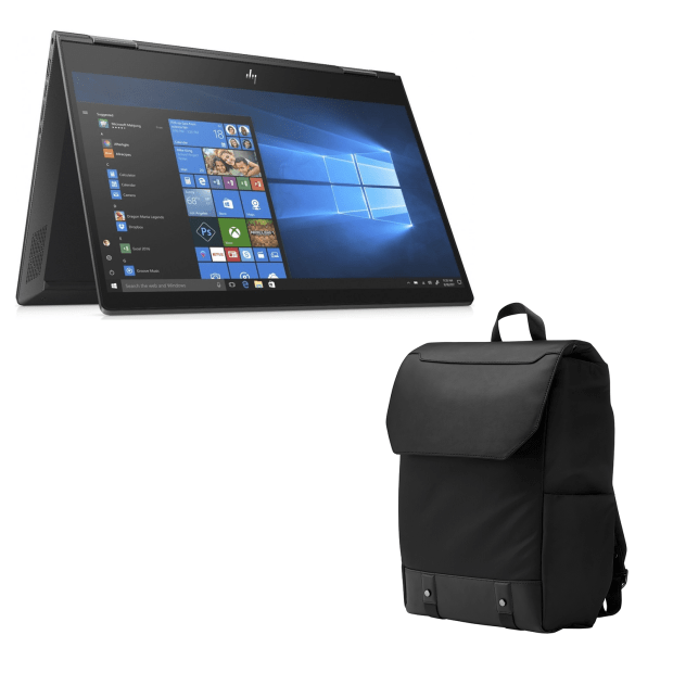 HP ENVY 13-ar0001ca x360 13.3'' Convertible Notebook with HP ENVY Uptown Backpack