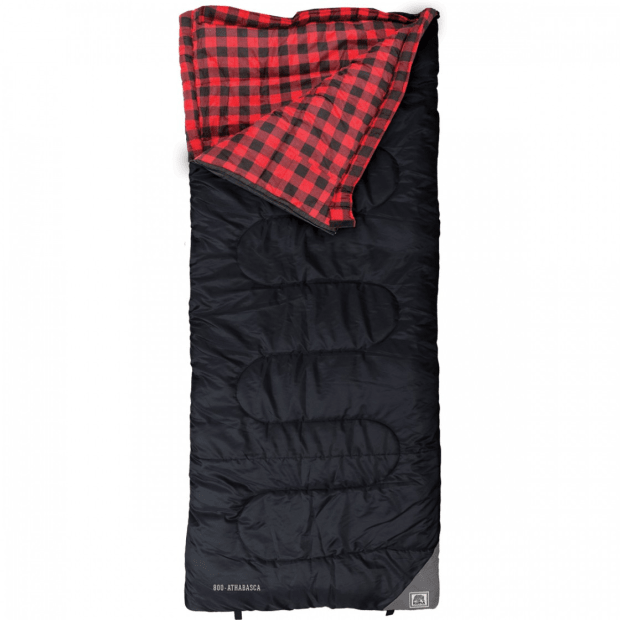 Kuma Athabasca Sleeping Bag - Red/Black #1