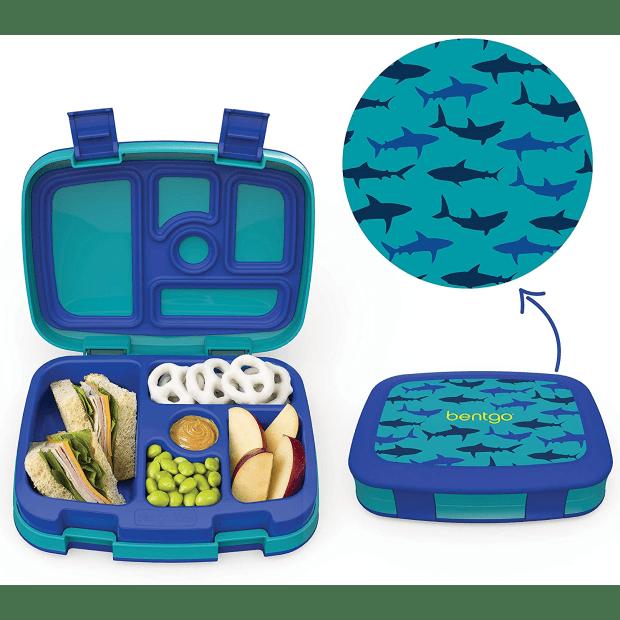 Bentgo® Kids Prints Lunch Box - Sharks #1
