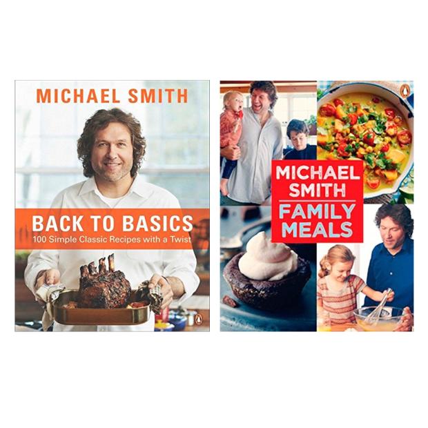 Micheal Smith 2-Cookbook Bundle #1