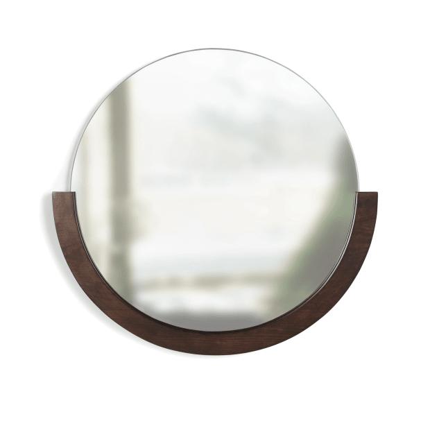 Umbra® Mira Wall Mirror - Aged-Walnut #1