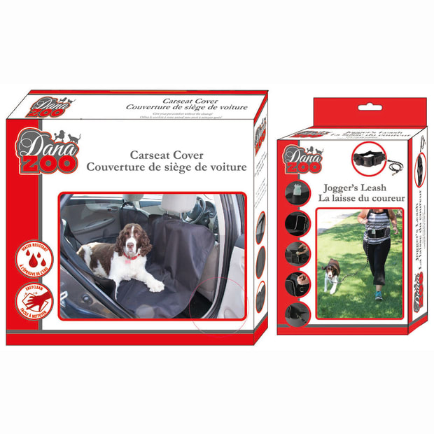 Danazoo Joggers Leash & Seat Cover Combo