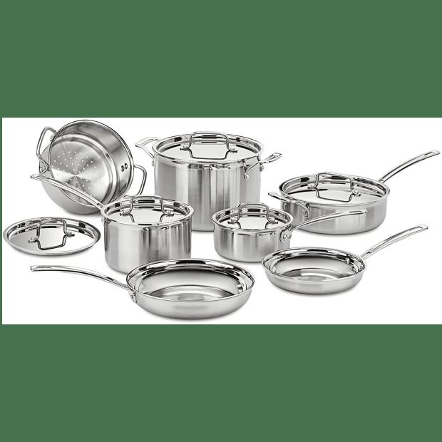 Cuisinart® Multiclad Pro 12-Piece Cookware Set #1