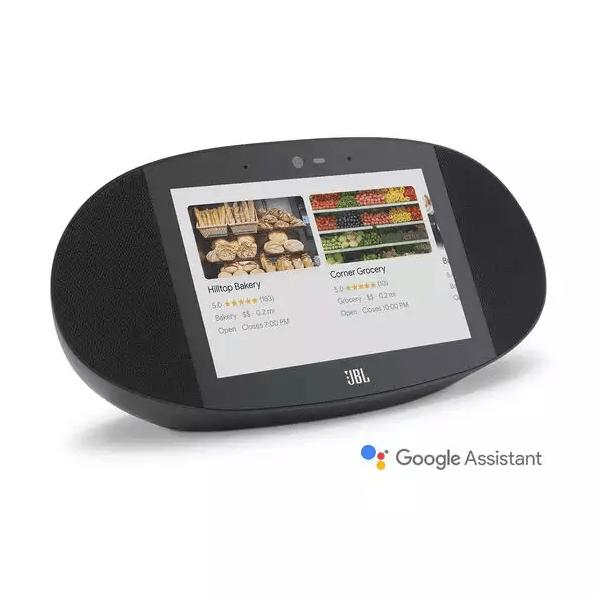 JBL Link View Smart Display Speaker With Google Assistant - Black #1