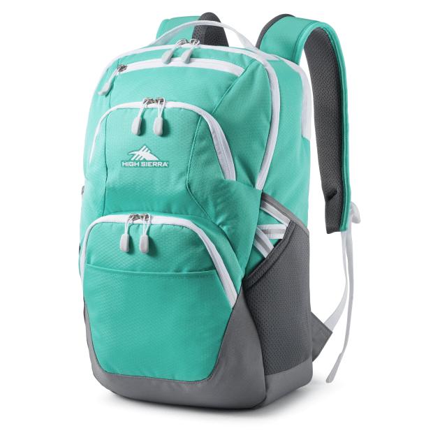 High Sierra Swoop SG Backpack - Aqamarine/Silver #1