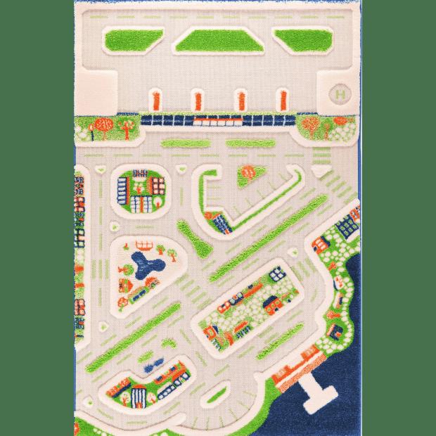 IVI 3D Play Carpet - Mini City - 59'' x 39'' #1