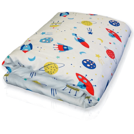 Hush® Kids Weighted Blanket - Spaceship - 38 x 54 - 5lb #1