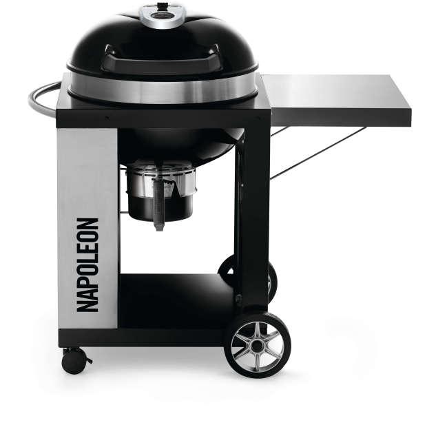 Napoleon PRO CART Charcoal Kettle Grill - Black