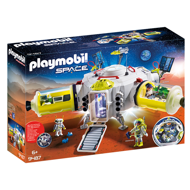 Playmobil Mars Space Station #1