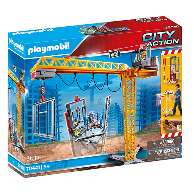 Playmobil RC Crane with Building Section #1