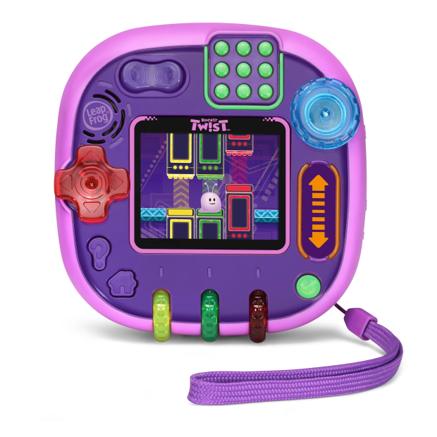 Leapfrog® RockIt Twist™ Handheld Gaming System - Purple - English Version #1