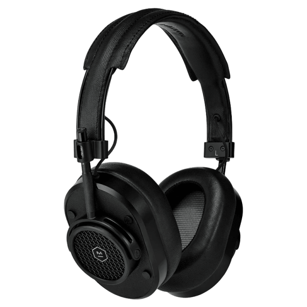 Master & Dynamic MH40 Wireless Over-Ear Headphones - Black Metal/Black Coated Canvas #1