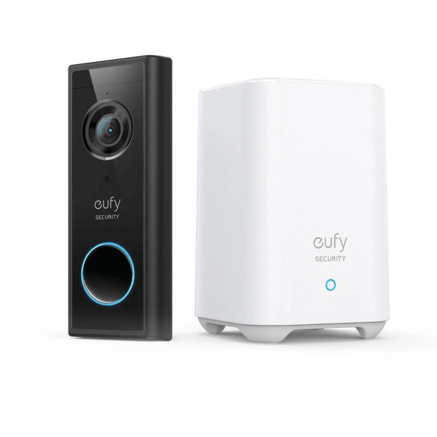 Eufy by Anker Wireless Video Doorbell (Battery Powered) with 2K HD #1