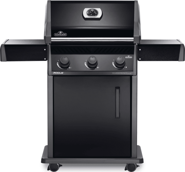 Napoleon Rogue® 425 Grill with 3 Burners - Black - Natural Gas