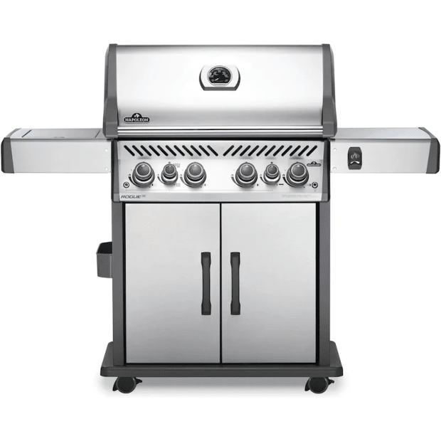 Napoleon Rogue® SE 525 Gas Grill with Infrared Side and Rear Burners - Stainless Steel - Natural Gas #1