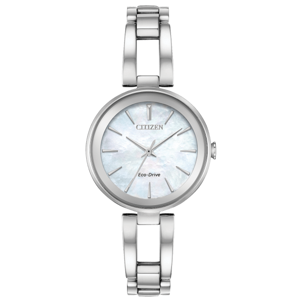 Citizen Axiom Ladies Eco-Drive Mother of Pearl Dial Watch #1
