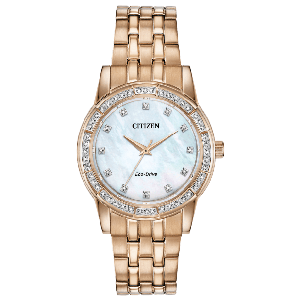 Citizen Silhouette Crystal Ladies Eco-Drive Watch #1