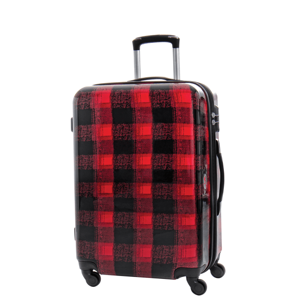 Canadian Tourister Collection Medium Spinner - Flannel Plaid #1