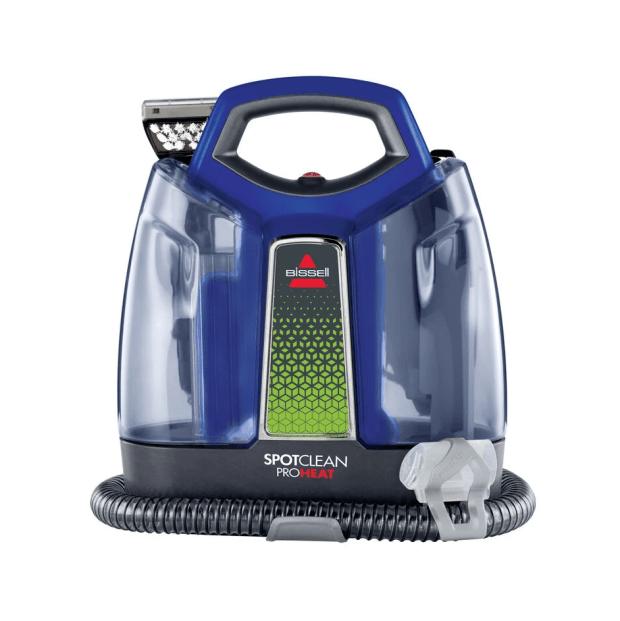 BISSELL SpotClean™ ProHeat® Portable Carpet Cleaner - Titanium/Cobalt Blue #1