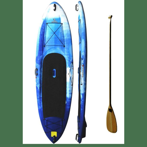 ClearWater Design Inuksuk Stand Up Paddleboard Bundle - Sky