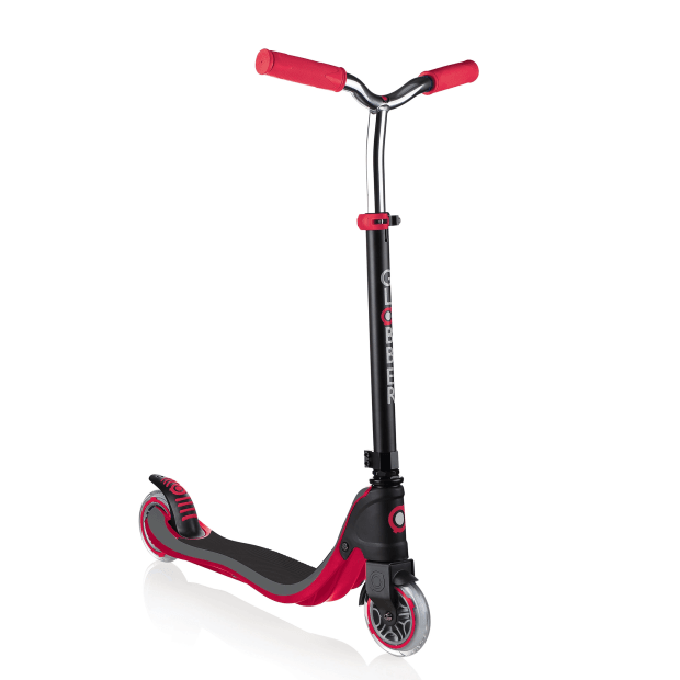 Globber FLOW 125 2-Wheel Scooter - Red/Black #1