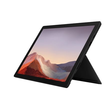 Microsoft Surface Pro 7 12.3'' Tablet - Matte Black - (Core i5 1035G4 - 8 GB RAM - 256 GB SSD)