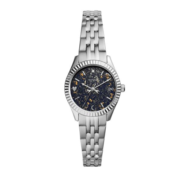 Fossil Women's Scarlette Mini Three-Hand Date Stainless Steel Watch #1