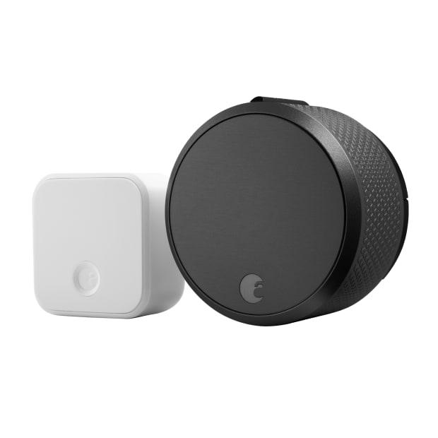 August Smart Lock Pro + Connect - Dark Grey