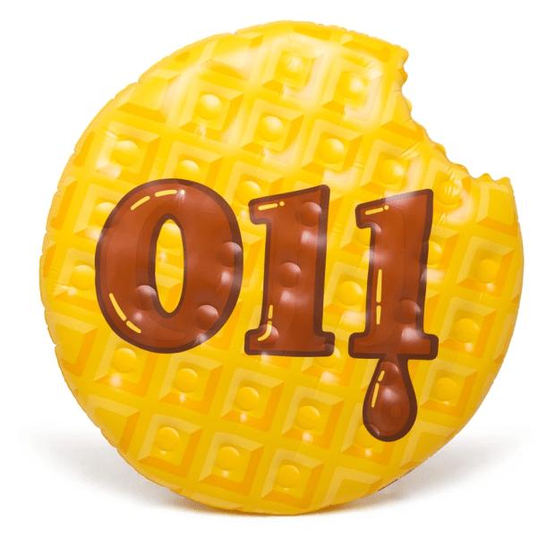 Big Mouth Inc. Stranger Things™ Waffle Pool Float #1