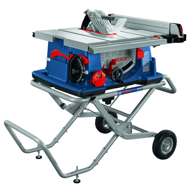 Bosch 10'' Worksite Table Saw with Gravity-Rise Wheeled Stand #1