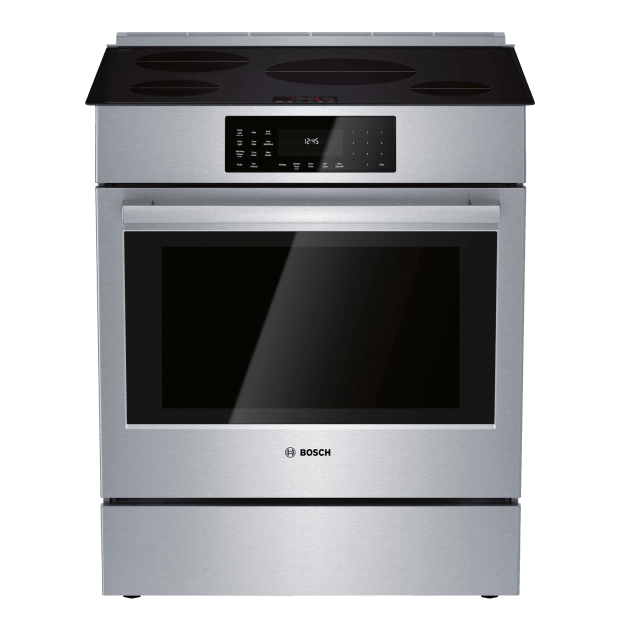 Bosch 800 Series 30'' Induction Slide-in Range - Stainless Steel #1