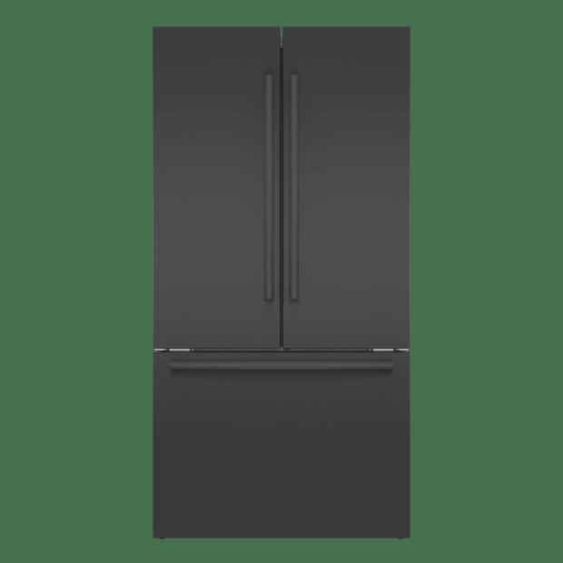 Bosch 800 Series 36'' French Door Bottom Mount Refrigerator - Black Stainless Steel #1