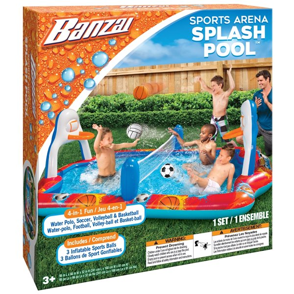 Banzai Sports Arena Splash Pool #1