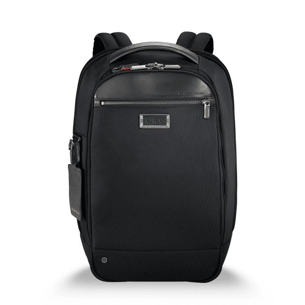 Briggs & Riley @work Medium Slim Backpack - Black #1