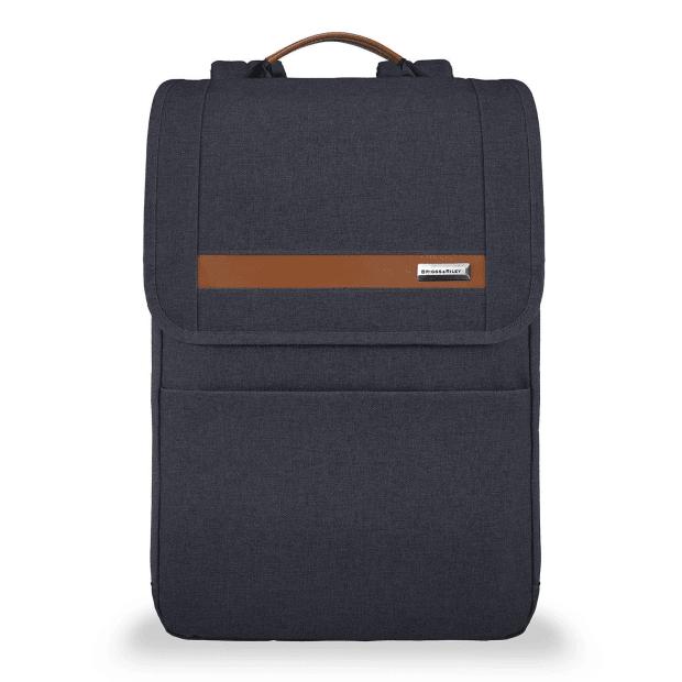 Briggs & Riley Kinzie Street Slim Expandable Backpack - Navy #1
