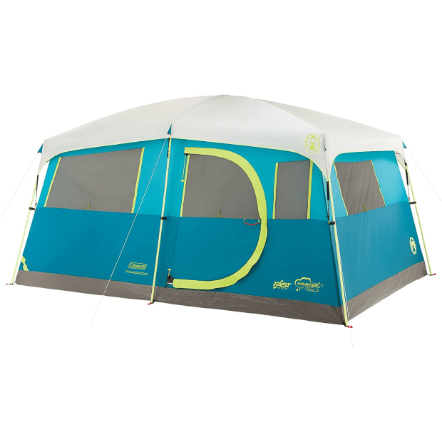 Coleman Tenaya Lake 8-Person Fast Pitch Tent with Closet #1